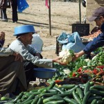 Marktszene Aourir, Marokko